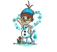 Cosplay Kids - Olaf by Tony Heath
