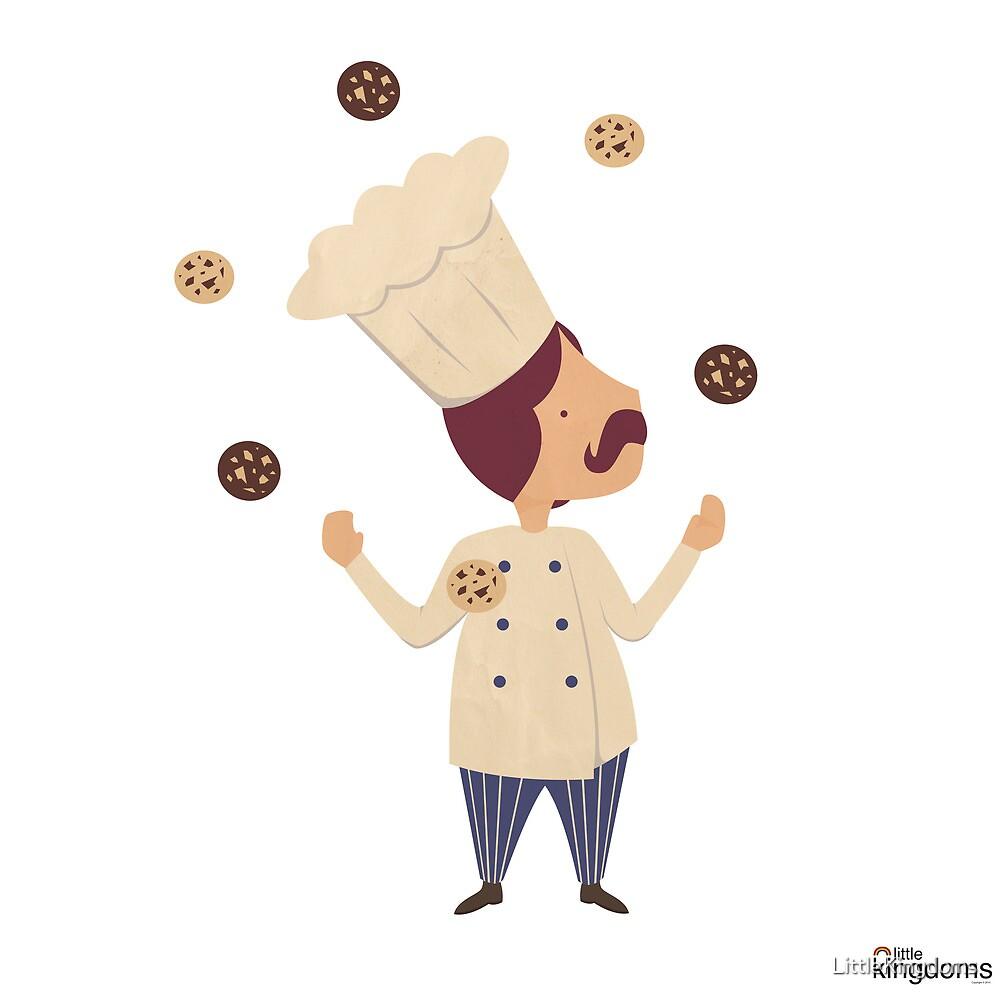 Cookie Moon Juggling Baker by LittleKingdoms