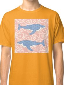 flower whale Classic T-Shirt