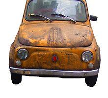 Rusty Fiat 500 by Intrepix