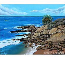 Laguna Beach, Heisler Park Plein Air Photographic Print