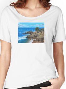 Laguna Beach, Heisler Park Plein Air Women's Relaxed Fit T-Shirt