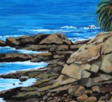 Laguna Beach, Heisler Park Plein Air Sticker