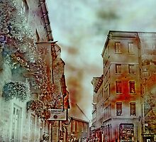 Streets of Quebec City  by Rick  Todaro