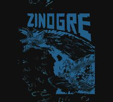 Monster Hunter- Zinogre Roar Design Blue Unisex T-Shirt