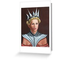 The Iron Queen Greeting Card