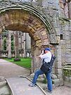 Fountains Abbey Ruins by Audrey Clarke