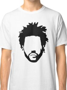 The Weeknd Head Outline Classic T-Shirt