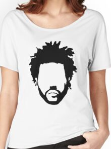 The Weeknd Head Outline Women's Relaxed Fit T-Shirt