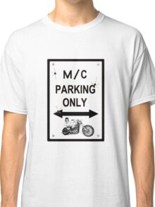 motorcycle parking Classic T-Shirt