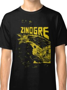 Monster Hunter- Zinogre Roar Design Yellow Classic T-Shirt