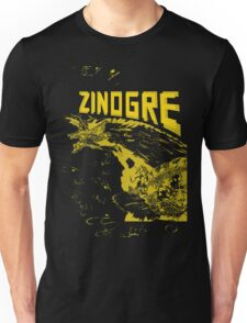Monster Hunter- Zinogre Roar Design Yellow Unisex T-Shirt