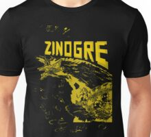 Monster Hunter- Zinogre Roar Design Yellow Unisex T-Shirt