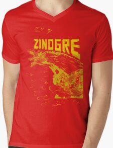 Monster Hunter- Zinogre Roar Design Yellow Mens V-Neck T-Shirt