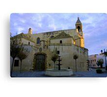 Iglesia de Nuestra Señora de la O, Rota Spain Canvas Print