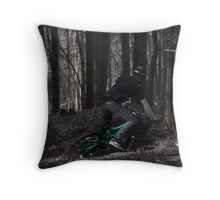 Roosting Drift Throw Pillow