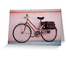 Ready for a ride Greeting Card