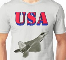F-22 Raptor Stealth Aircraft Unisex T-Shirt