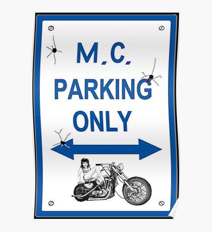 M.C. Parking 5 Poster