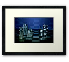 Chess Pieces - Framed Print