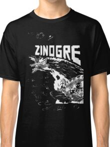 Monster Hunter- Zinogre Roar Design White Classic T-Shirt