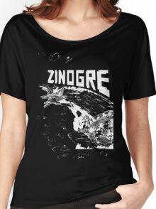 Monster Hunter- Zinogre Roar Design White Women's Relaxed Fit T-Shirt