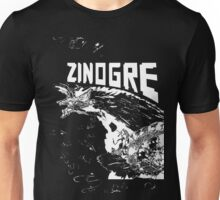 Monster Hunter- Zinogre Roar Design White Unisex T-Shirt