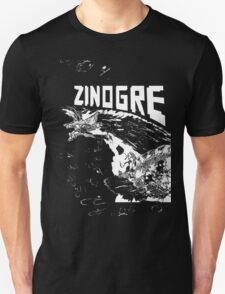 Monster Hunter- Zinogre Roar Design White T-Shirt