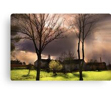 Before A Storm Canvas Print