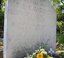 The grave of T E Lawrence by pix-elation