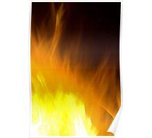 Fire Art Poster