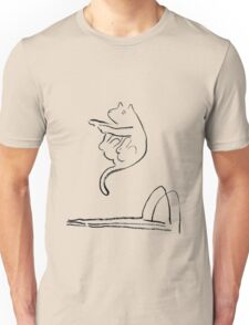 diving cat Unisex T-Shirt