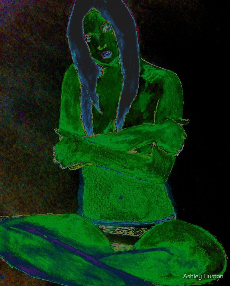 Reptile Girl by Ashley Huston