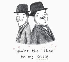 Laurel & Hardy Kids Tee