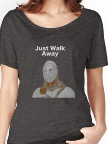 "Humongous- ""Just Walk Away"" - Road Warrior Women's Relaxed Fit T-Shirt"