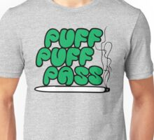 Puff Puff Pass (Green) Unisex T-Shirt