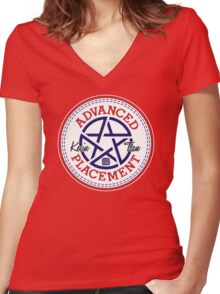 Advanced Placement  Women's Fitted V-Neck T-Shirt