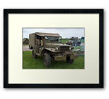 Dodge Weapons Carrier Framed Print