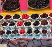 Candied Fruit Market in Tehran Sticker