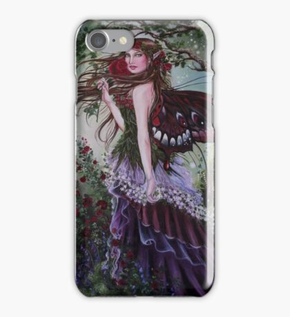 Secret garden fairy tote bag iPhone Case/Skin