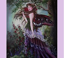 Secret garden fairy tote bag by gabo2828
