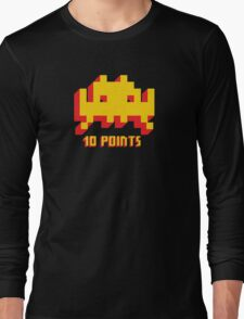 Space Invaders 10 Points Long Sleeve T-Shirt