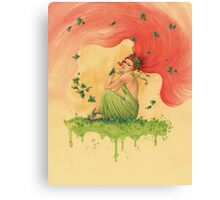 Poison Ivy Canvas Print