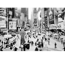 On Times Square  Photographic Print