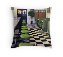The SkyWay Diner Throw Pillow