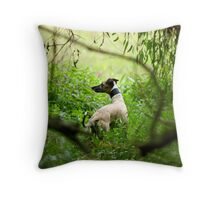 I smell Foxes! Throw Pillow