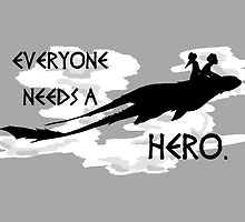 everyone needs a hero. by baydw7