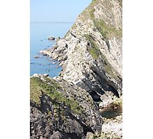 Cliffs at Lulworth Cove Photographic Print