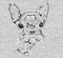 Sketchy Frenchie Kids Tee