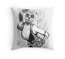 Sugar Harley Throw Pillow